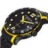 Stuhrling Gents Trofeo Watch with PVD Stainless Steel Strap with FREE 10 Slot Box Yellow