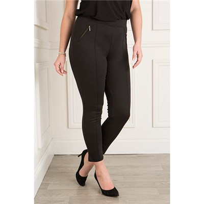 Sugar Crisp Zip Detail Trouser