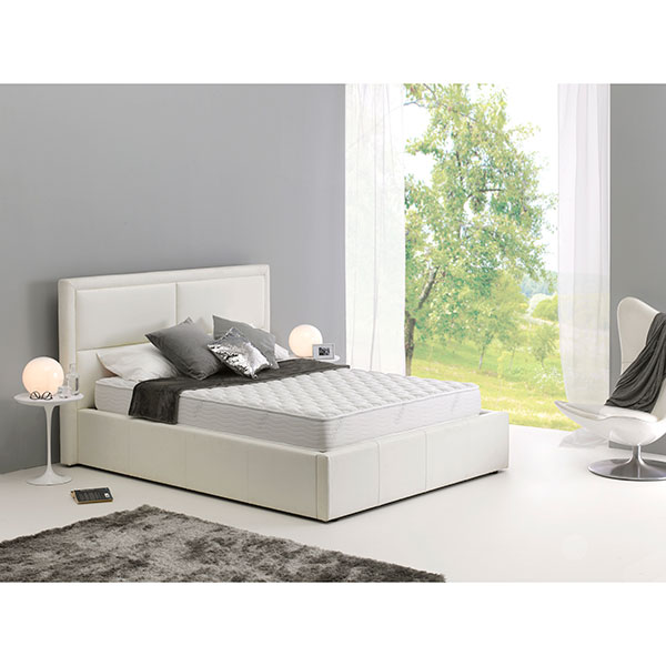 Dormeo Memory Silver Double Mattress (2cm Memory Foam and 12cm Ecocell Foam) with Extended Warranty Upon Registration No Colour