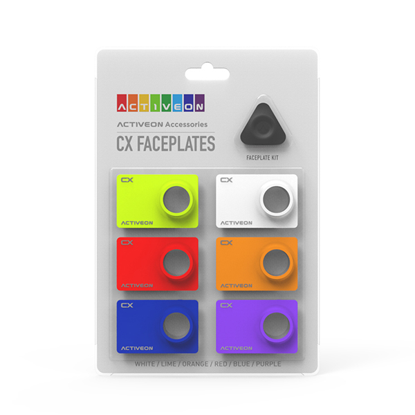 Activeon CX Faceplate Kit No Colour