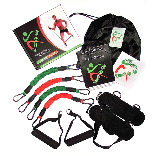 Stand Up Abs with Exercise Manual, DVD and Carry Bag No Colour