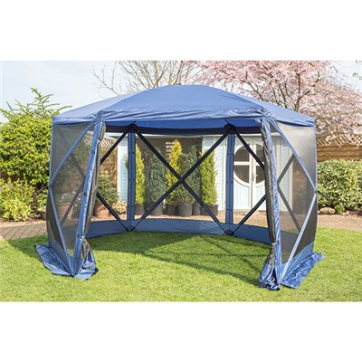 The Pavilion - Spring Up Instant 6 Sided Summer House