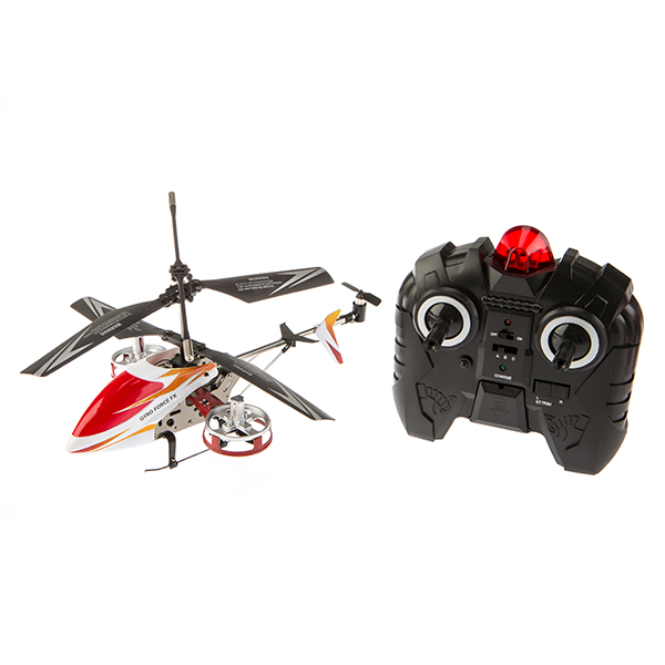 Hamleys Gyro Force FX Mini Helicopter Red