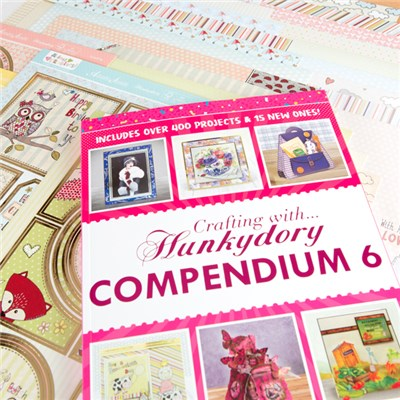 Crafting with Hunkydory Compendium 6 with Animal Crackers Papercrafting Kit