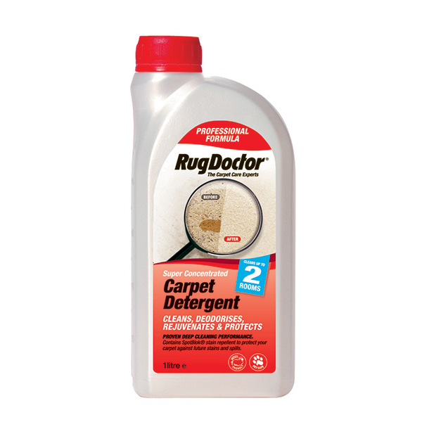 Rug Doctor Carpet Detergent 1L No Colour