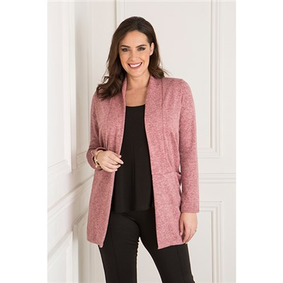 Nicole Edge To Edge Jacket With Pockets