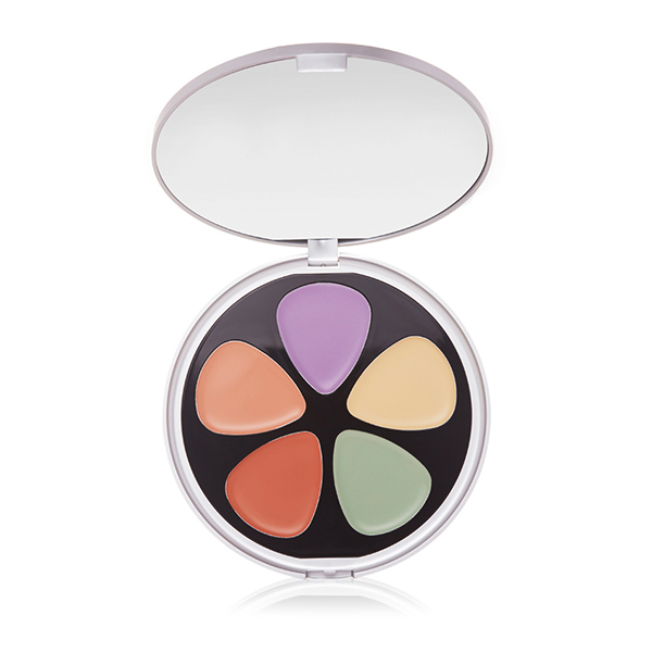 Skinn Forget Me Not Perfecting and Correcting Palette with Brush No Colour