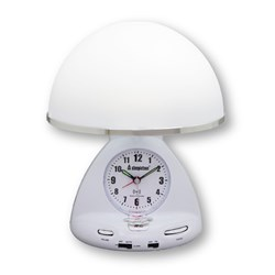 Steepletone STLCR1 ATS Touch Light Radio Controlled Alarm Clock Radio with Lifetime Guarantee
