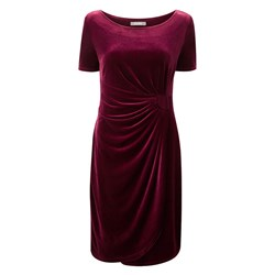 Lavitta Velour Wrap Dress 41in