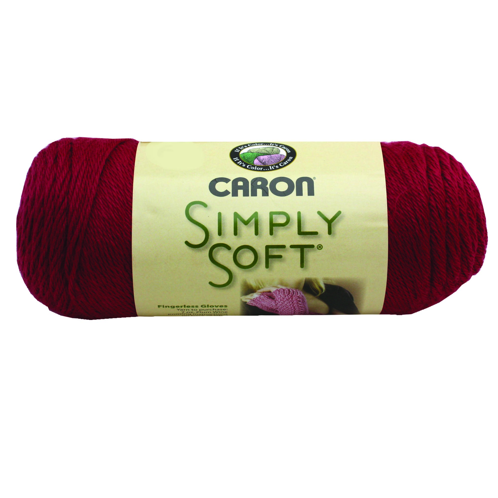 Caron Simply Soft Autumn Red 3-6Oz