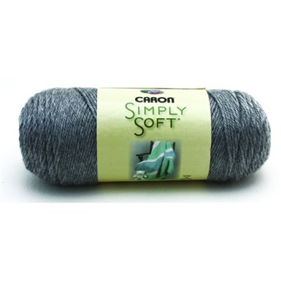 Caron Simply Soft Grey Heather 170g - 6oz
