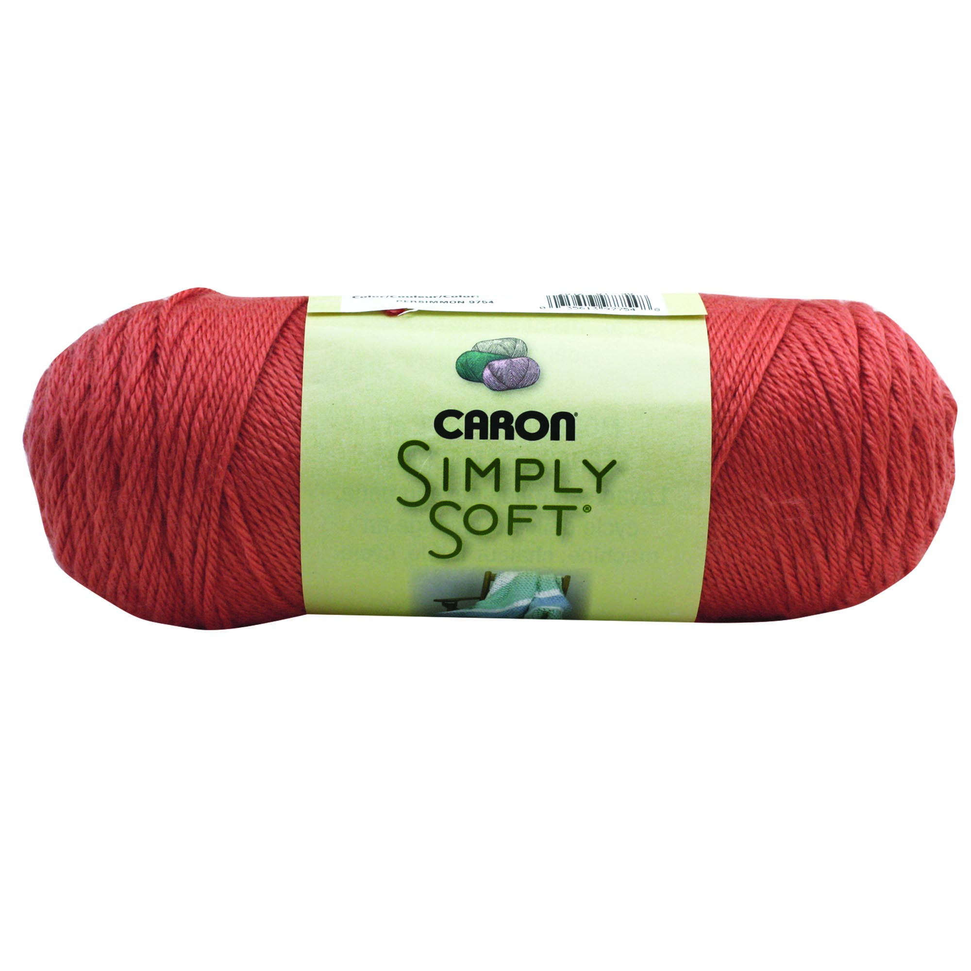 Caron Simply Soft Persimmon 3-6Oz