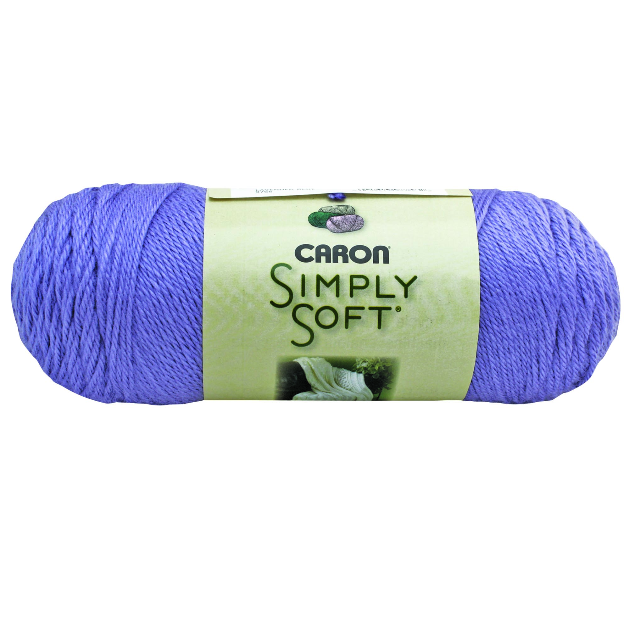 Caron Simply Soft Lavender Blue 3-6Oz
