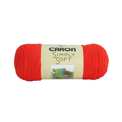 Caron Simply Soft Orange 3-6Oz