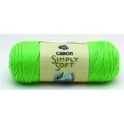 Caron Simply Soft Brites Limelight 170g - 6oz