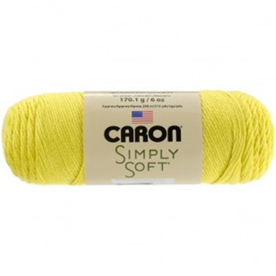 Caron Simply Soft Brites Super Duper Yellow 170g - 6oz