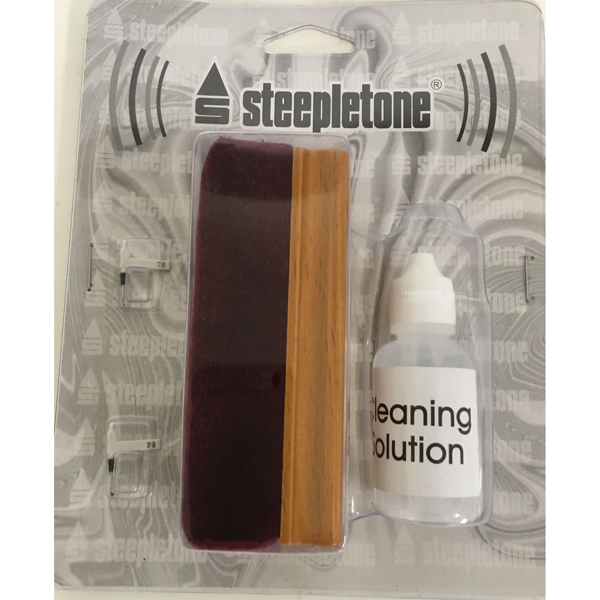 Steepletone SBSK8 Flip-Over Stylus Kit with Record Cleaner No Colour