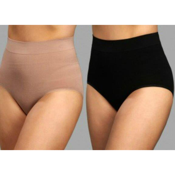 Bella Bodies Twin Pack Bamboo Firming Br Black/Sand