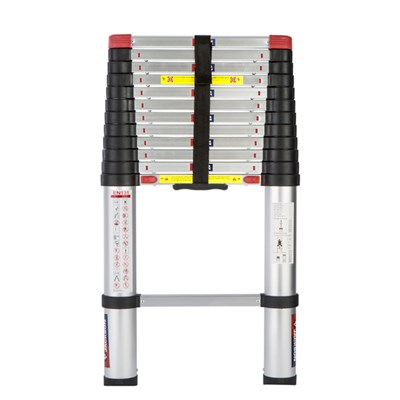 Spear & Jackson 3.8m (12.6ft) Telescopic Ladder MKII