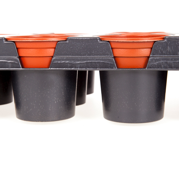 Professional Shuttle Tray with 18 x 9cm Pots No Colour