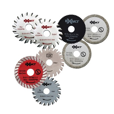 Exakt Saw 8 Piece Blade Set