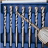 Drill All Drill Bits  with Diamond Tipped Screwdriver Bits, Screw Tube and Tool Bag