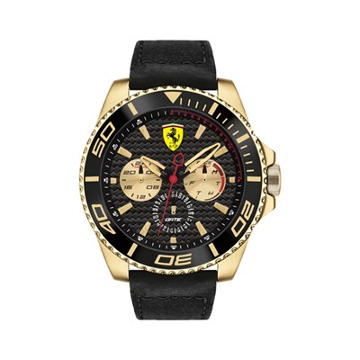 Scuderia Ferrari Gents XX Kers with Leather Strap
