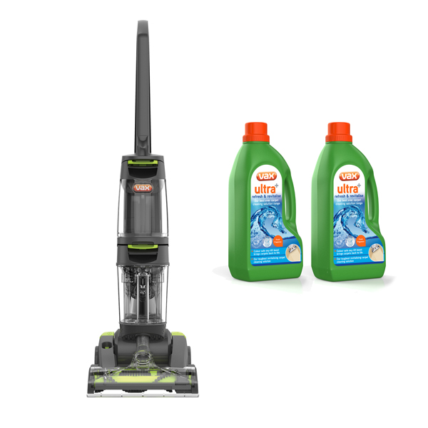 Vax Dual Power Carpet Cleaner with 2 x 1.5L Carpet Cleaning Formula No Colour