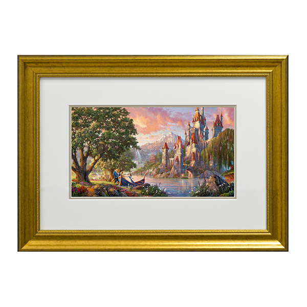 Thomas Kinkade Beauty And The Beast II Open Edition Print Traditional
