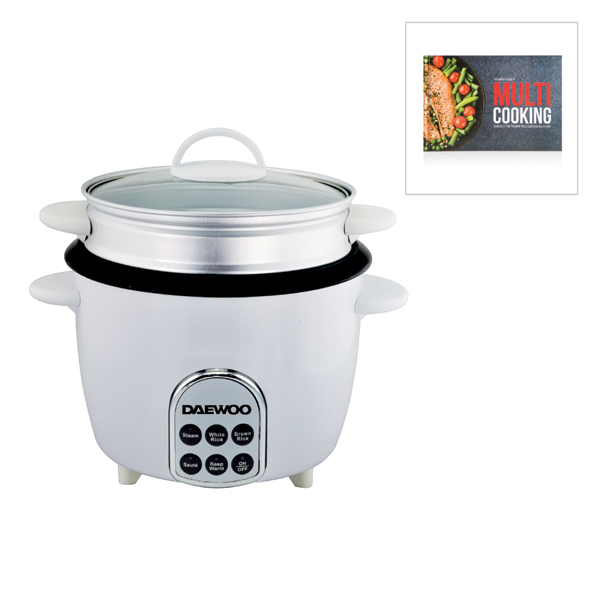 Image of Daewoo 5 in 1 Multicooker with Free Multicooker Cookbook 390859