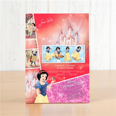 Disney Snow White Colourful Creations Paper Pad