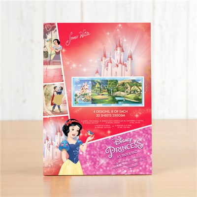 Disney Snow White Backing Paper Pad