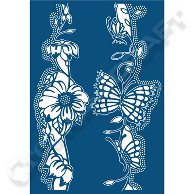 Tattered Lace Love is in the Air Butterfly Die
