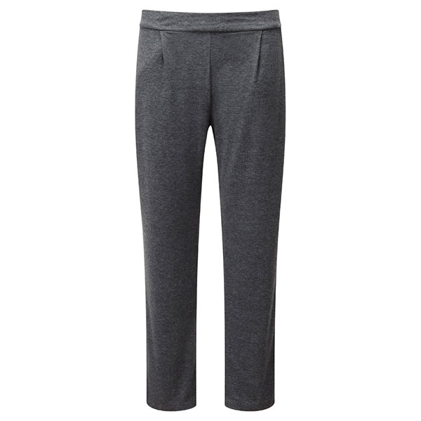 Lavitta Basic Jersey Harem Trouser 27in Charcoal Grey