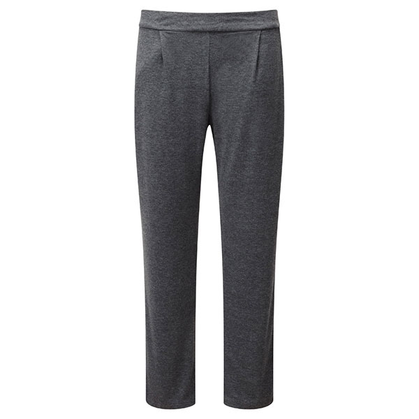Lavitta Basic Jersey Harem Trouser 29in Charcoal Grey