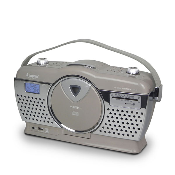Steepletone Stirling Retro Radio Mocha