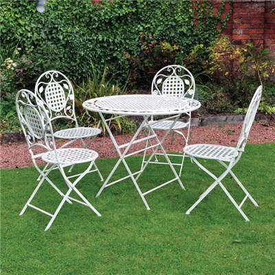 5 Piece Vintage Outdoor Dining Set