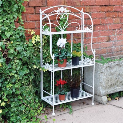 3 Tier Vintage Garden Shelves
