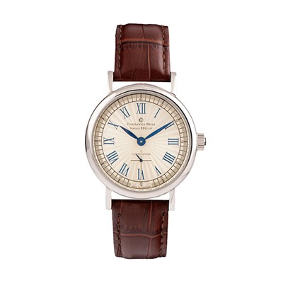 Constantin Weisz Gents Vintage with Genuine Leather Strap