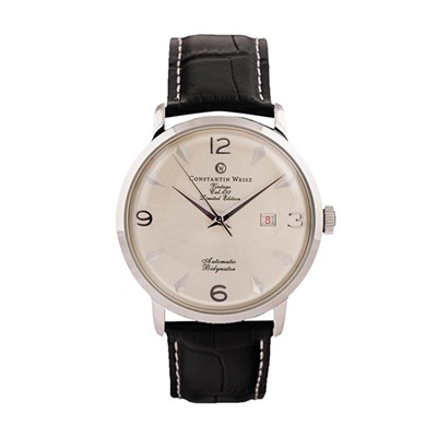 Constantin Weisz Gents Vintage Automatic Limited Edition with Genuine Leather Strap
