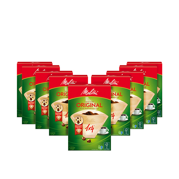 Melitta 9 x 40s Coffee Filter Paper No Colour