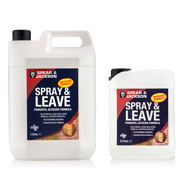Spear & Jackson Spray and Leave 5L with Additional 2.5L No Colour