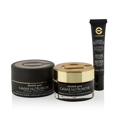 Elizabeth Grant Caviar Nutruriche Hydration Treatment Trio