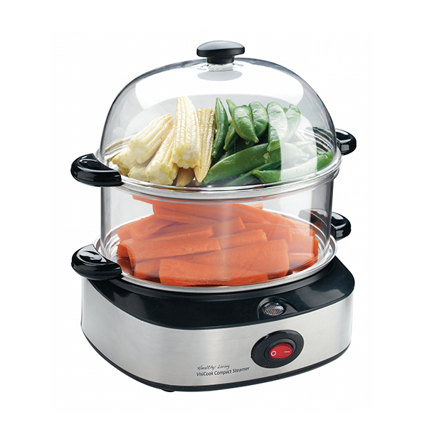 Visicook Healthy Living Compact Steamer No Colour