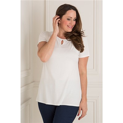 Emelia Cut Out Detail Top