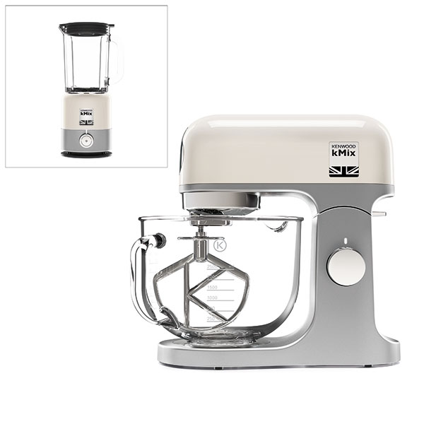 kenwood kmix stand mixer with free kmix thermoresist. Black Bedroom Furniture Sets. Home Design Ideas
