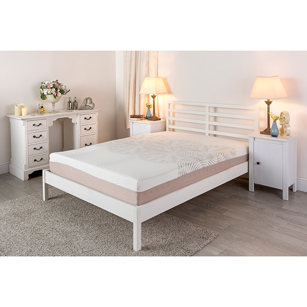 Sleep Genie Adam Mattress Double No Colour