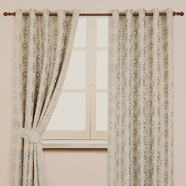 Darla Ring Top Lined Curtain (46 inches x)