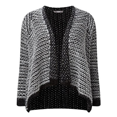 Lavitta Textured Waterfall E2E Cardigan 27in