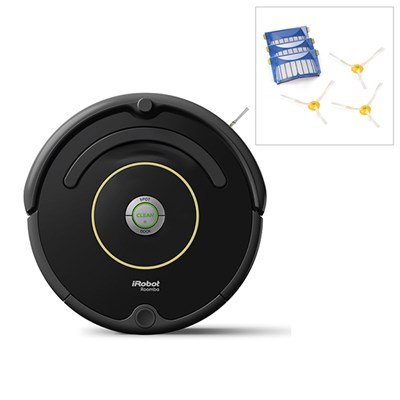 iRobot Roomba 612 Vacuum Cleaning Robot with FREE Accessory Pack